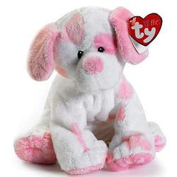 Pluffies White & Pink Puppy