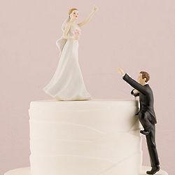 Victorious Bride Figurine Cake Topper