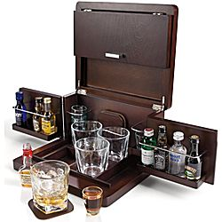 tabletop mini bar cool tabletop bar has a rich walnut colored finish