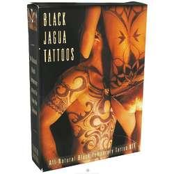 All Natural Black Temporary Tattoo Kit