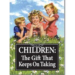 Children Keep on Taking Birthday Card