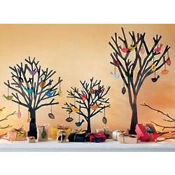 Poplar Wood Finch Ornaments