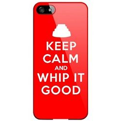 Keep Calm and Whip It Good Slim Hard Case for iPhone 5