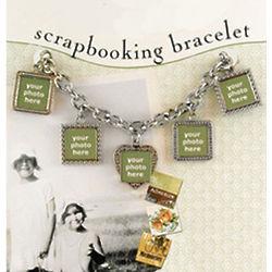 Scrapbooking Charm Bracelet