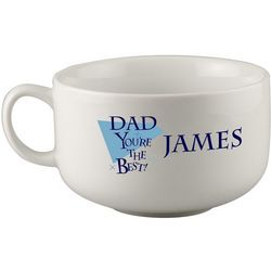 Personalized Soup Mug for Dad