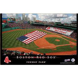 Boston Red Sox Personalized Stadium Canvas