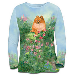 Women's Pomeranian Dreams Shirt