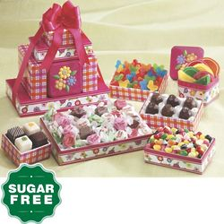 Sugar Free Spring Gift Tower