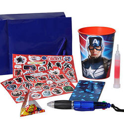 Captain America Favor Pack