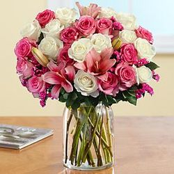 Passionately Pink Flower Bouquet