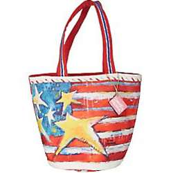 Stars Stripes Large Beach Bag