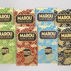 8-Pack of Marou Single Origin Dark Chocolate