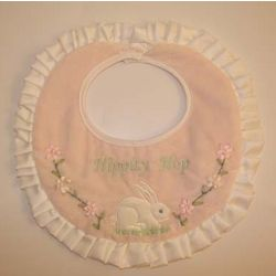Personalized Cotton Tail Bib