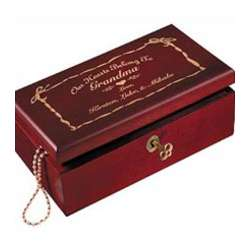 Our Hearts...Keepsake Box