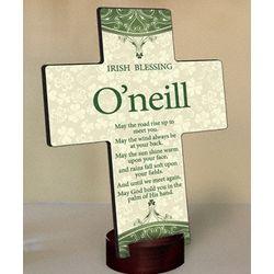 Personalized Classic Irish Cross