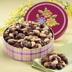 Premium Nut Assortment Gift Tin