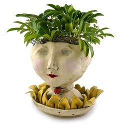 Petaluma Victorian Lovelies Sculpted Face Indoor Planter