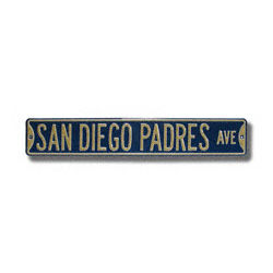 San Diego Padres Authentic Street Sign
