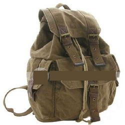 Women's Canvas Pocket Backpack