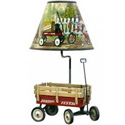 Radio Flyer Wagon Table Lamp