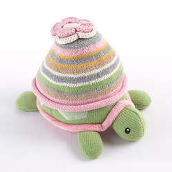 Baby Hat and Turtle Plush