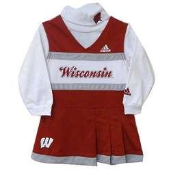 Wisconsin Badgers Toddler Cheerleader Outfit