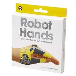 Robot Hands Temporary Talking Hands Tattoos
