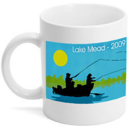 Fishing Photo Mug