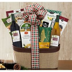 Brick Lane California Assortment Wine Gift Basket