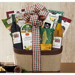 Rock Falls Vineyards California Assortment Gift Basket