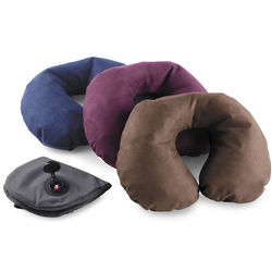 Two-Sided Inflatable Neck Pillow