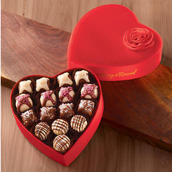 Valentine's Day Deluxe Chocolates Gift Box
