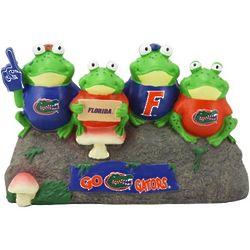 Florida Gators Frog Bench Lawn Statue