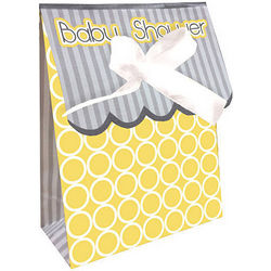 Mod Baby Shower Favor Bags