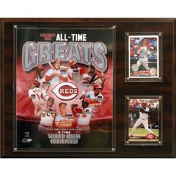 MLB Cincinnati Reds All-Time Great Photo Plaque