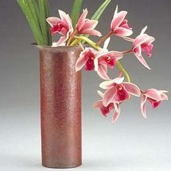 Frank Lloyd Wright-Style Russian Copper Vase