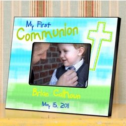 First Communion Personalized Frame
