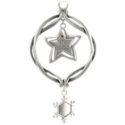 "Personalized ""To Teach"" Star Ornament"