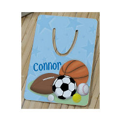 Personalized Sports Fan Bookmark