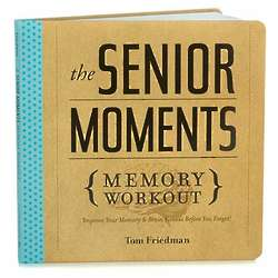 Senior Moments Memory Workout Book