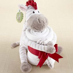 Zoey the Zebra Plush Zebra and Blanket
