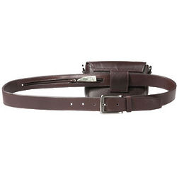 Secret Leather Money Belt
