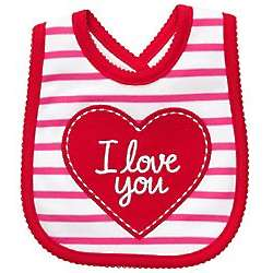 Carter's Valentine's Day I Love You Bib