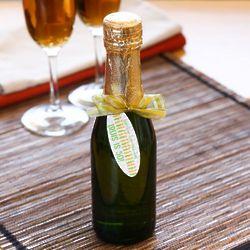 Sparkling Cider Mini Bottles