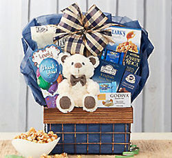 Bear Hugs Thanks So Much Gift Basket