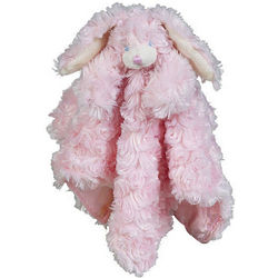 Cottontail Cutie Bunny Pink Security Blanket