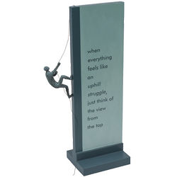 Perseverance Free Standing Plaque