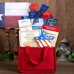 4th of July Snack Assortment Gift Tote