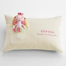 Mini Plush Toy with Pillow