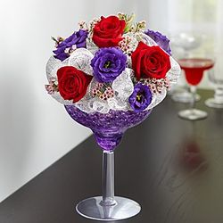 Toast to Love Flower Bouquet